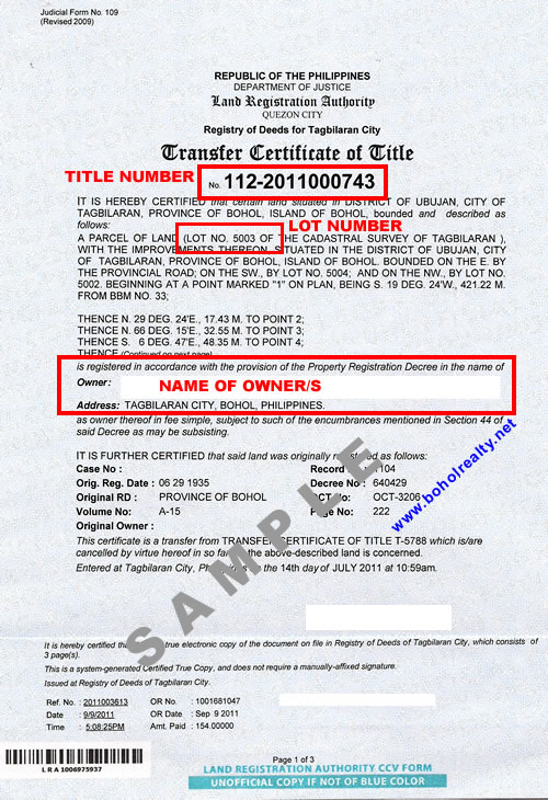 Tax Deed Property